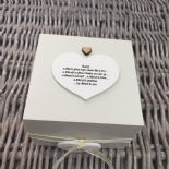Shabby Personalised Chic Special Best Friend Gift Trinket Box Jewellery Friends - 232512206201
